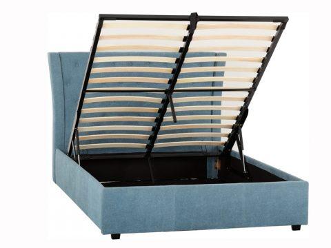 Camden Ottoman Bed Frame in Blue-4306