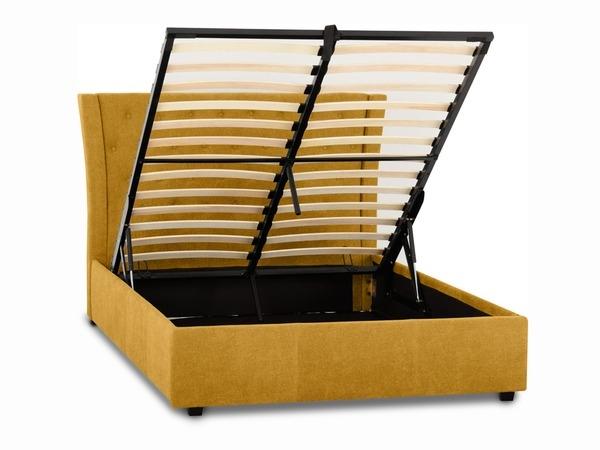 Camden Ottoman Bed Frame in Mustard-4309