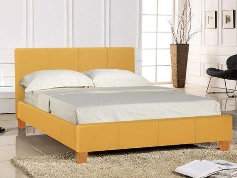 Prado Mustard Bed Frame-0