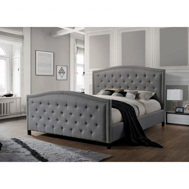 Marcel Fabric Bed frame-0