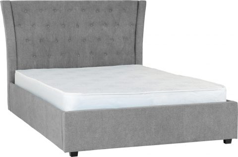 Camden Bed Frame in Grey-0