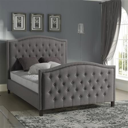 Marcel Fabric Bed frame-4257