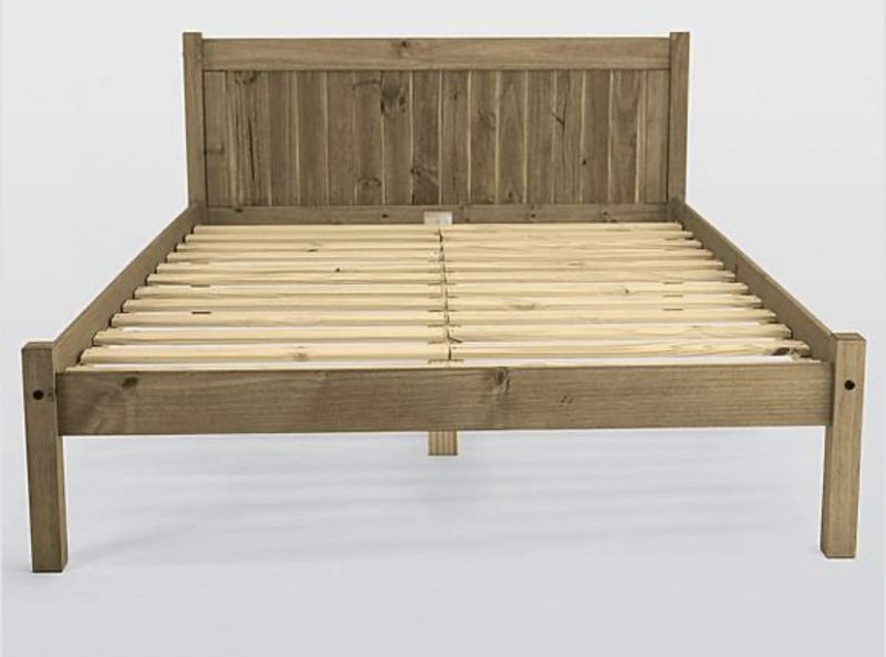 Mya Rustic Wooden Bedframe -4332