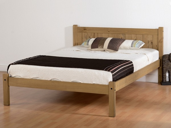 Mya Rustic Wooden Bedframe -0