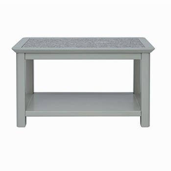 Pearl Open Coffee Table with Stone Top -0