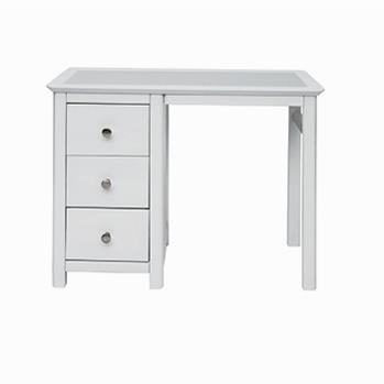 Stire Single Pedestal Dressing Table with Stone Top -0