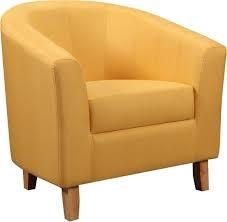 Bedroom Mustard Tub Chair-0