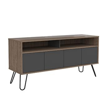 Vincent Modern Wide Screen TV Stand with 4 Doors -0
