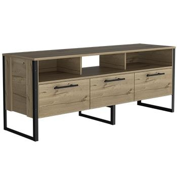 Brooklyn Wide TV Stand with 3 Doors -0