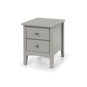 Cosmo 2 Drawer Petite Bedside -0