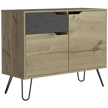 Manhattan Sideboard with 2 Doors and 1 Drawer-0