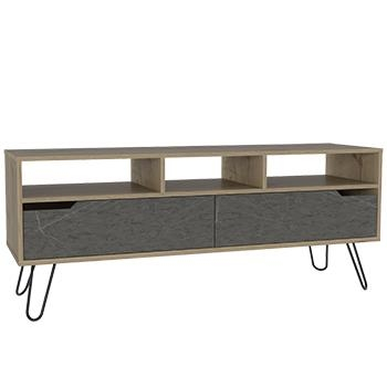 Manhattan Wide Screen TV Stand with 2 Doors -0